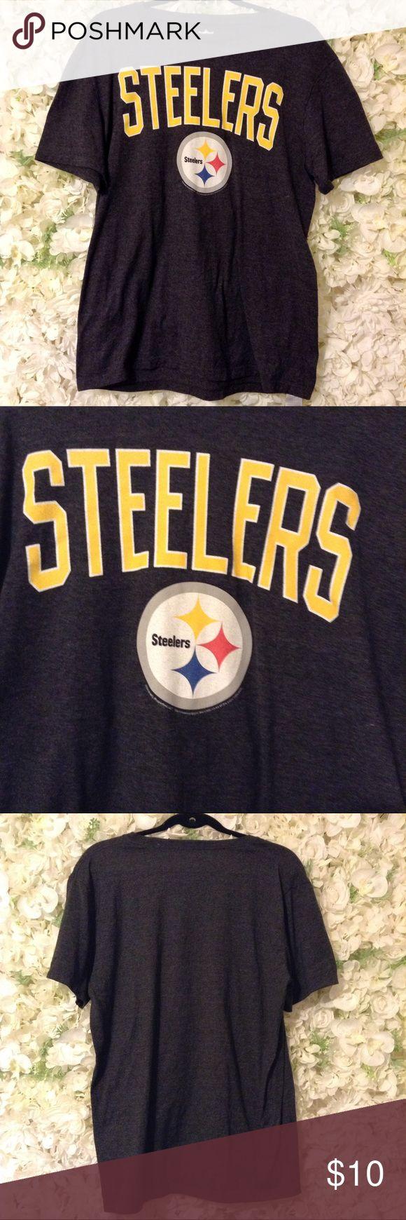 NFL Steelers T-Shirt NFL Steelers T-Shirt. Soft T-shirt. NFL Team Apparel. NFL Team Apparel Shirts Tees - Short Sleeve