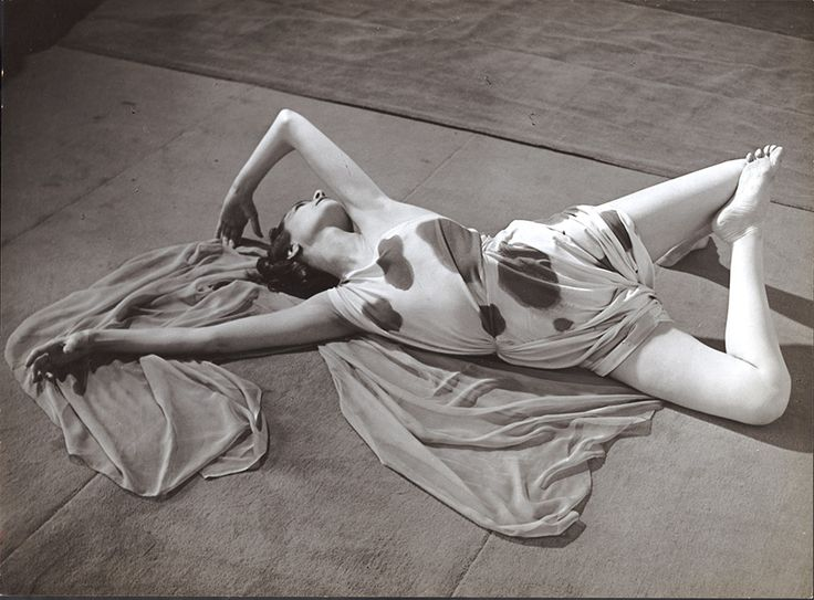 Brassaï, Modernist Study of a Dancer Reclining, 1930.