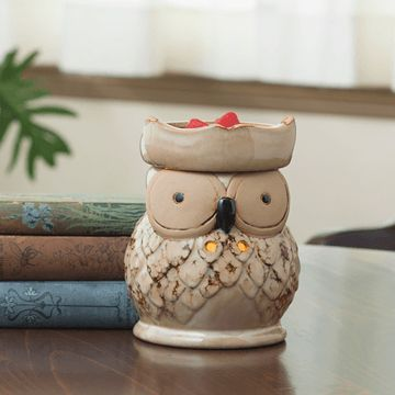 Owl Fragrance Electric Candle Warmer