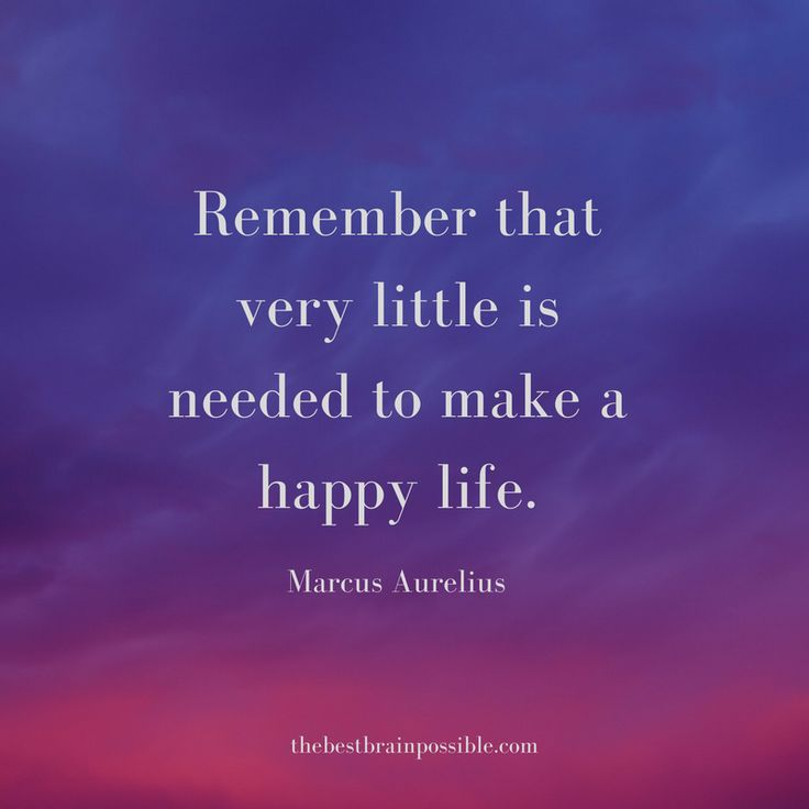 Research has linked unhappiness and negative emotions with a materialistic mindset. If you want to be happy, simplify your life and mindset.