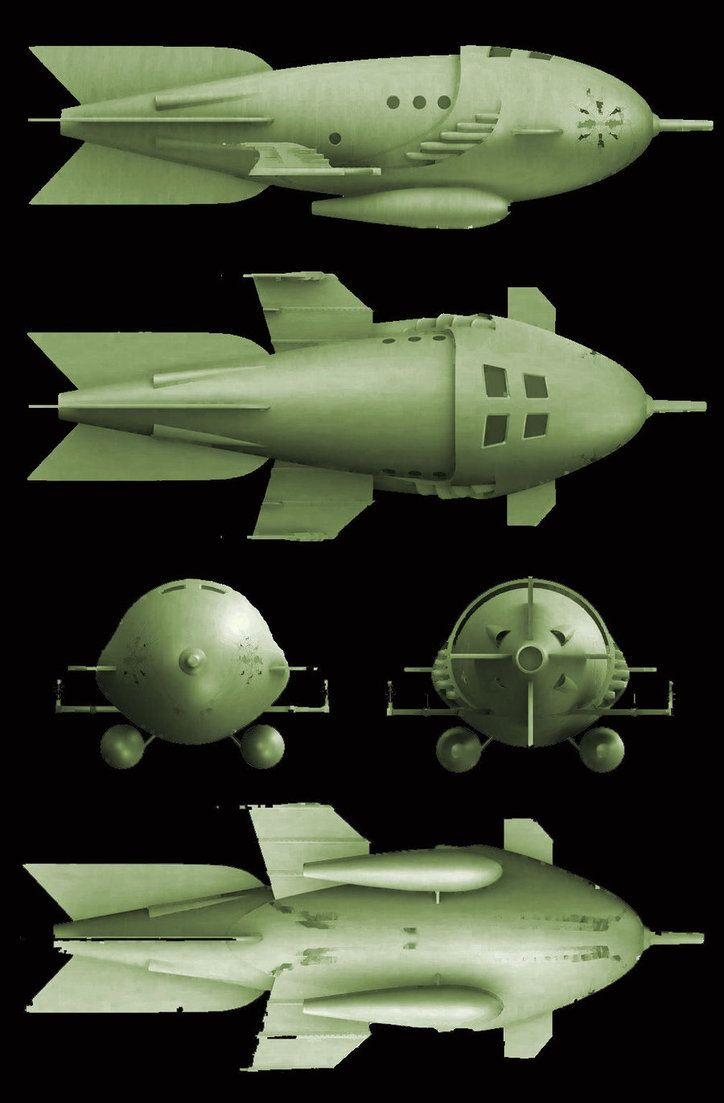 Space ships rockets