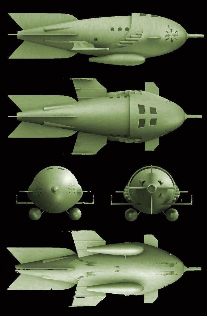 Space ships, rockets et autres vaisseaux spatiaux