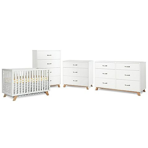 Create a chic, modern nursery with the SOHO Collection by Child Craft. Each piece features clean lines and understated design that will effortlessly transition with your baby into their toddler years and beyond.