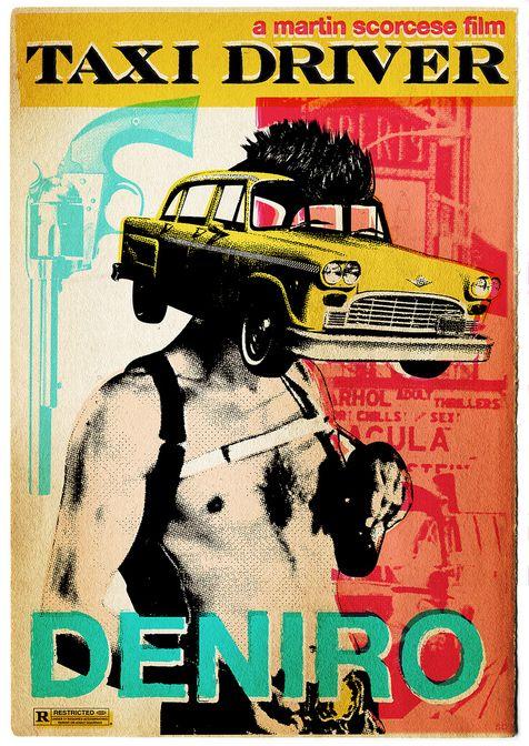 Альтернативный постер таксист