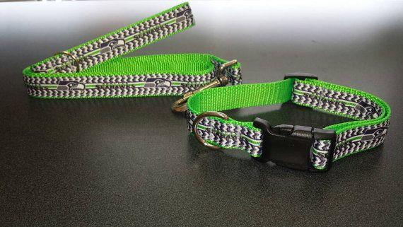 Check out this item in my Etsy shop https://www.etsy.com/listing/387077178/cat-or-small-dog-seattle-seahawks-collar