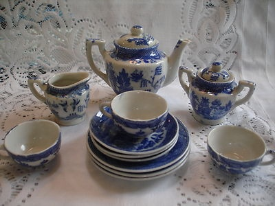 1000 Images About Blue Amp White Kid S Tea Sets On