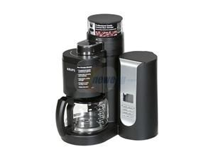 KRUPS KM7000 Black Grind-and-Brew Coffeemaker