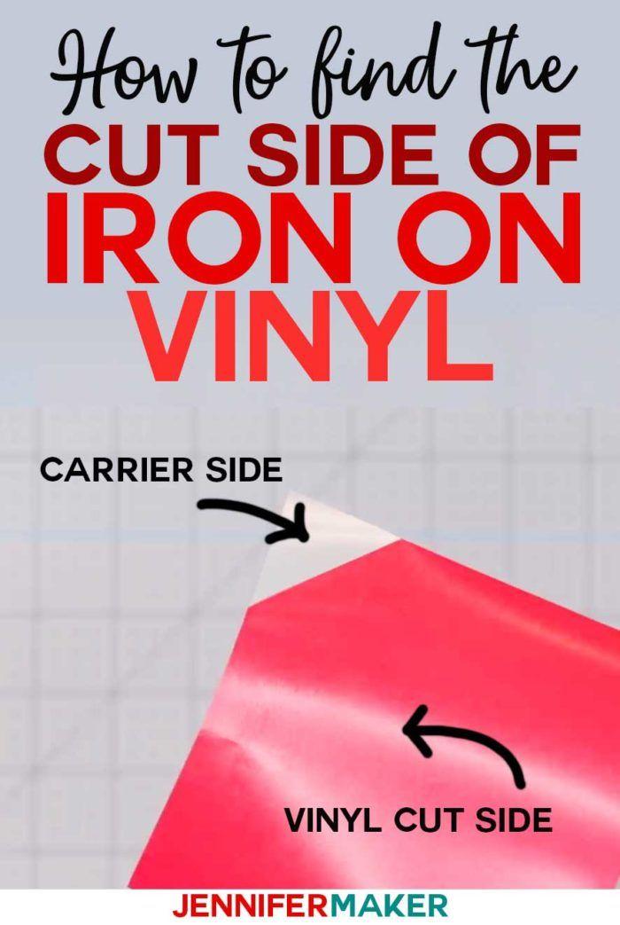Which Side Of Iron On Vinyl Goes Down Jennifer Maker Iron On Vinyl Cricut Iron On Vinyl Cricut Heat Transfer Vinyl