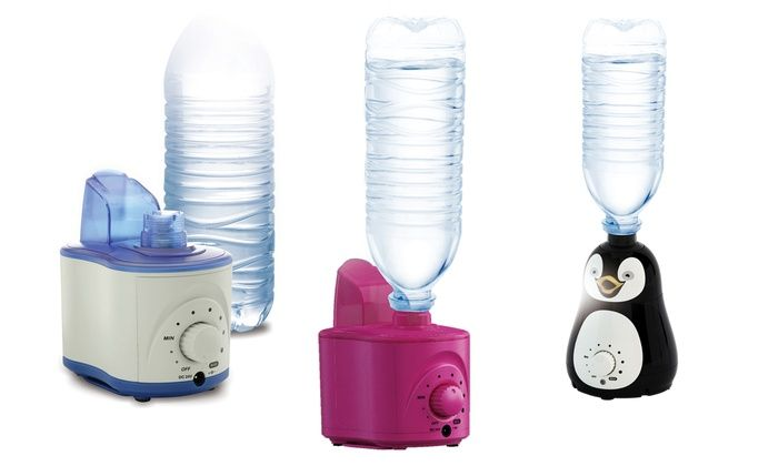 Bell and Howell Water Bottle Humidifier: Bell + Howell Water Bottle Humidifier