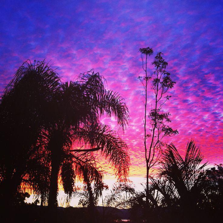 Sunset over Lake Macquarie, NSW