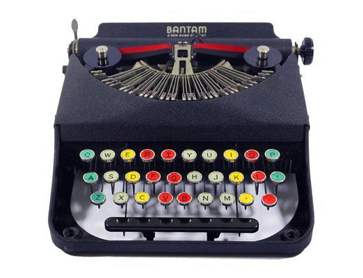 i love the clacking sound typewriter keys make