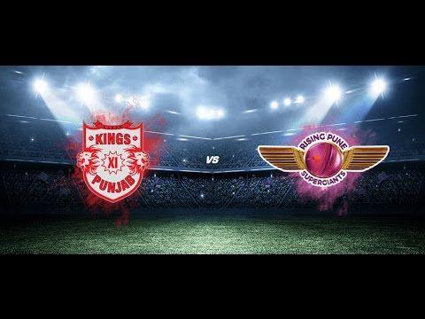 IPL 2017 KXIP vs RPS live match Preview || 4th Match IPL 10 || KXIP vs R...