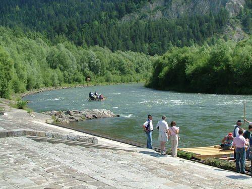 Pieniny Dunajec river rafting june 2007
