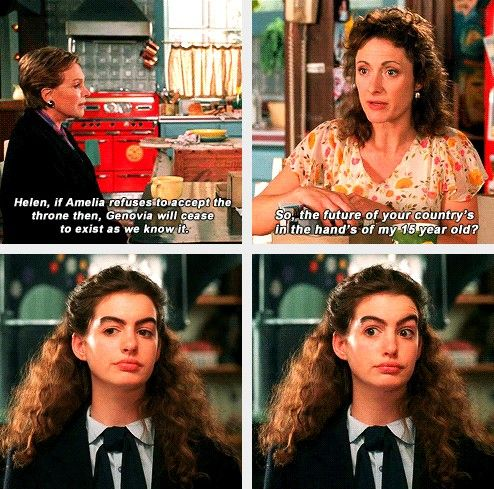 The Princess Diaries. I can't even explain how much I love this movie and how much I'm like Mia.