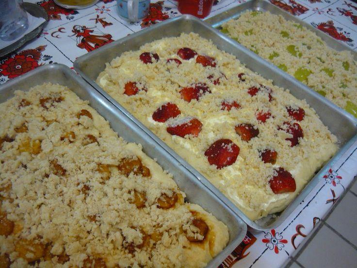 Cuca de Frutas da Tia Rosinha | Alemã | Receitas Gshow