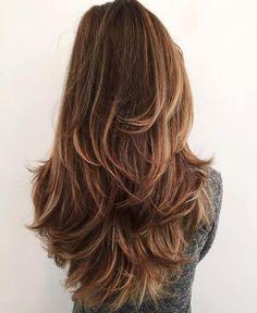 Long Layered Haircut For Thick Hair
