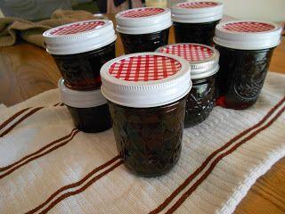 The American Homemaker: Cherry Jam (No Pectin)