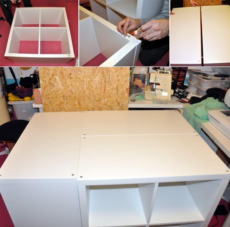 Ikea Kallax Hack: Schneidetisch