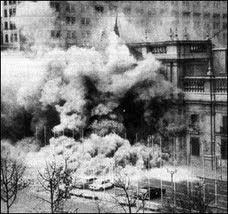11 septiembre 1973: La Moneda en llamas