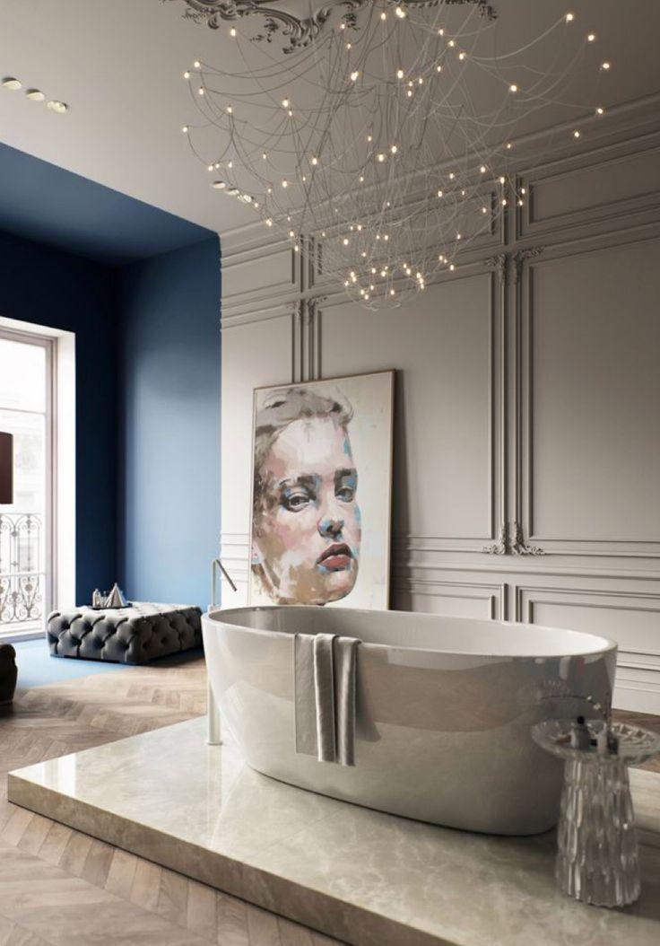 How To Get A Modern Classic Bathroom łazienka W 2019
