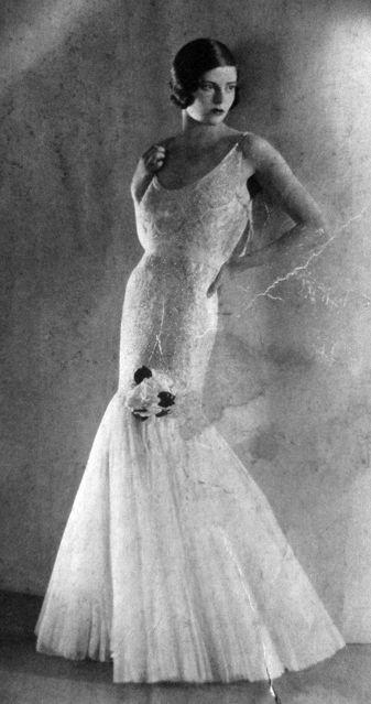 1930s Vogue Paris. Mermaid is back to fashion.