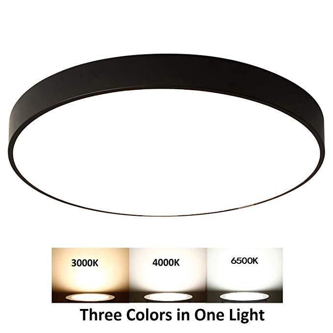 Ganeed 12 Inch Led Ceiling Lights Dimmable Modern Round Flush