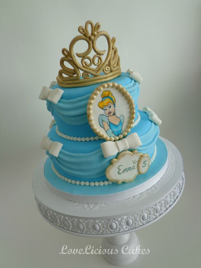 Cinderella Birthday Cakes Pictures