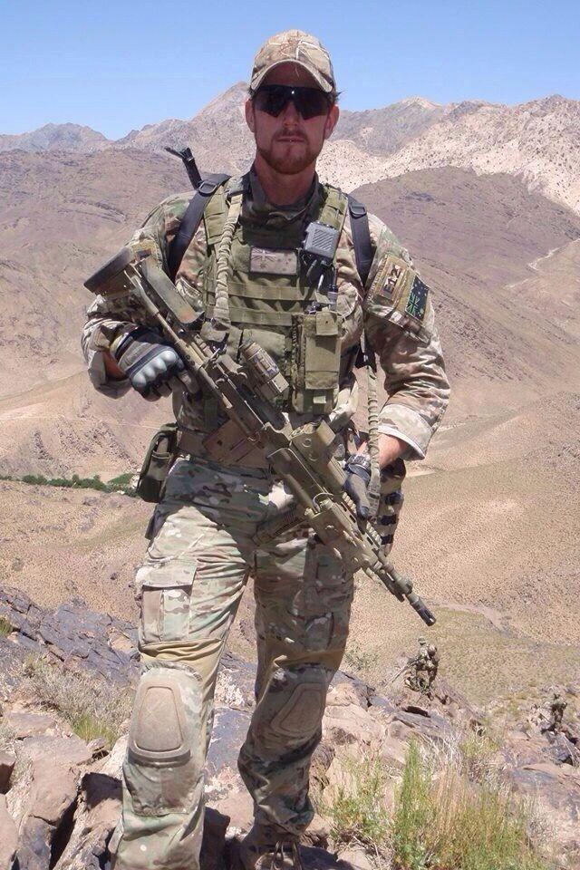Australian SAS Corporal Ben RobertSmith recipient of the