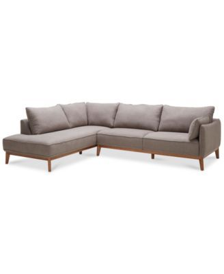 Jollene 2-Pc. Sectional, Only at Macy's