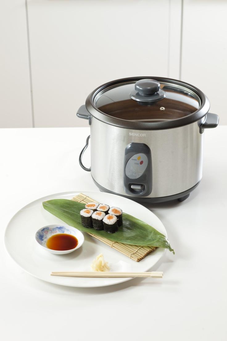 #sushi Maki Zushi and rice cooker Sencor SRM 1800SS