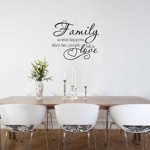 Family Love Wall Quote