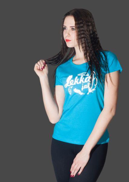 ODBLASKOWA KOSZULKA LEKKA JAK PIÓRKO - Odblaskomat - Koszulki z nadrukiem