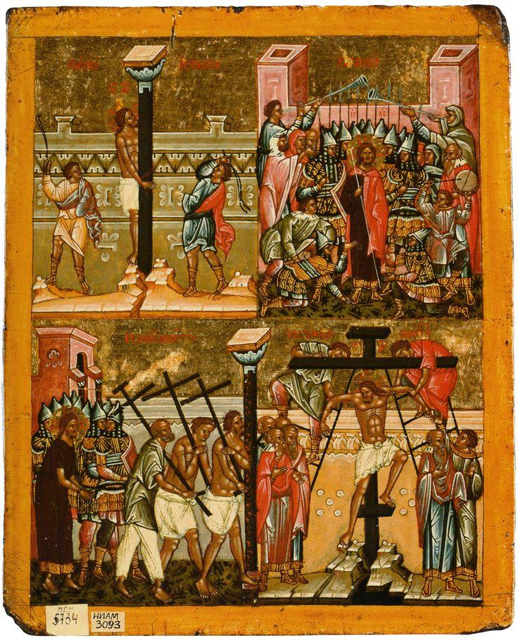Бичевание Христа, Надругание над Христом, Шествие на Голгофу, Восхождение на крест