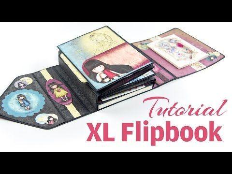 EVG design team project 'Victorian Romance' scrapbook & journal in 1 album - YouTube