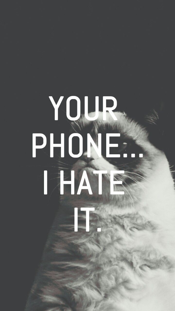 My Lockscreens - Grumpy Cat