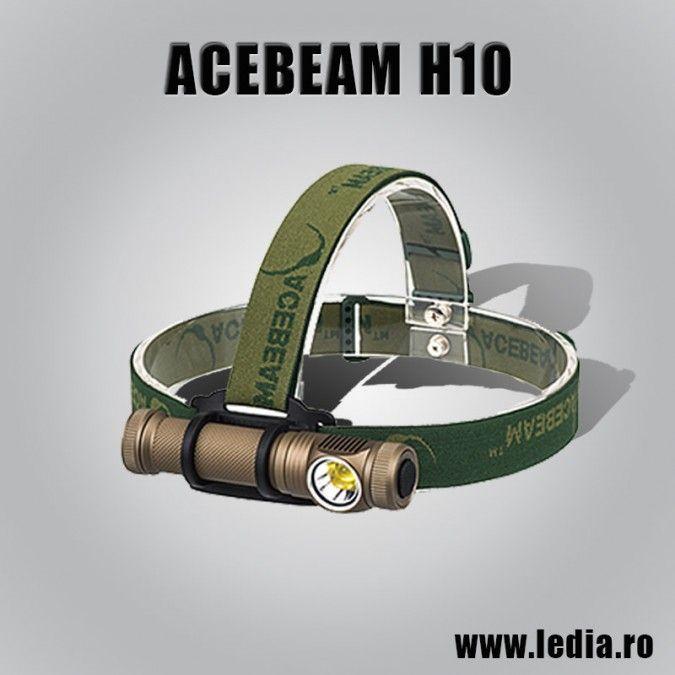 LANTERNA LED FRONTALA ACEBEAM H10