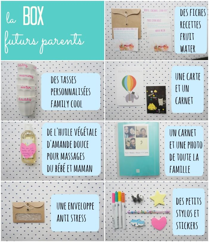 une box pour les futurs parents à faire soi même / par withalovelikethat.fr