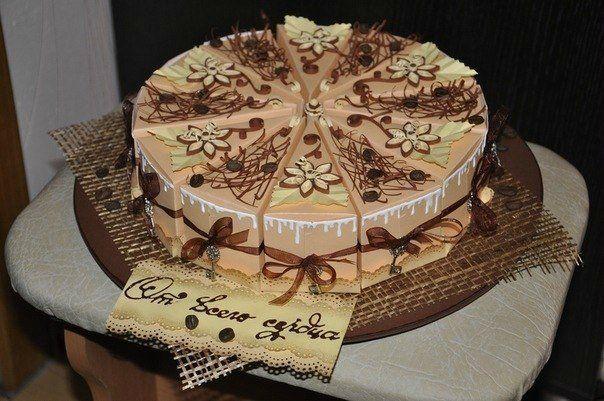 Торт с поздравлениями
