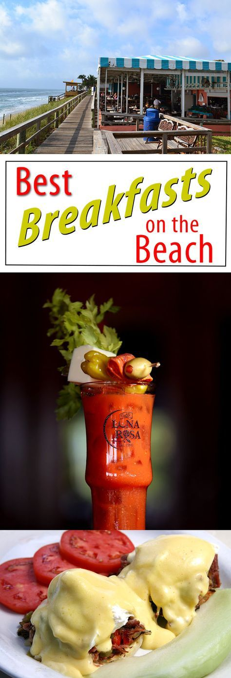There's just something about heading to the beach for breakfast. Watching the sun rise in the sky and hearing the waves hit the shore, it feels like you're being served possibility on a plate.  Here are five Palm Beach County eateries where the only thing better than the eggs are the excellent water views.