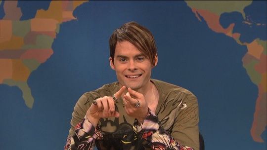 Bill Hader as Stefan in his final episode as part of the SNL cast - May 19, 2013.