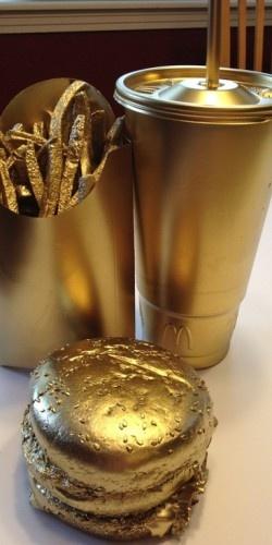 Big Mac, fries and a coke #gold