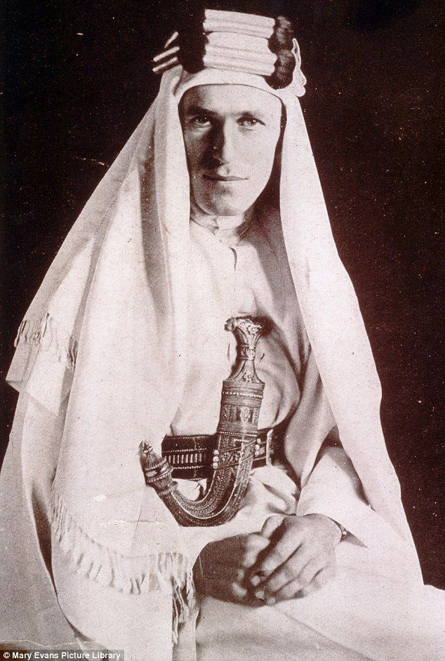 Anniversary: This month marks 100 years since T. E. Lawrence first arrived in what was to ...