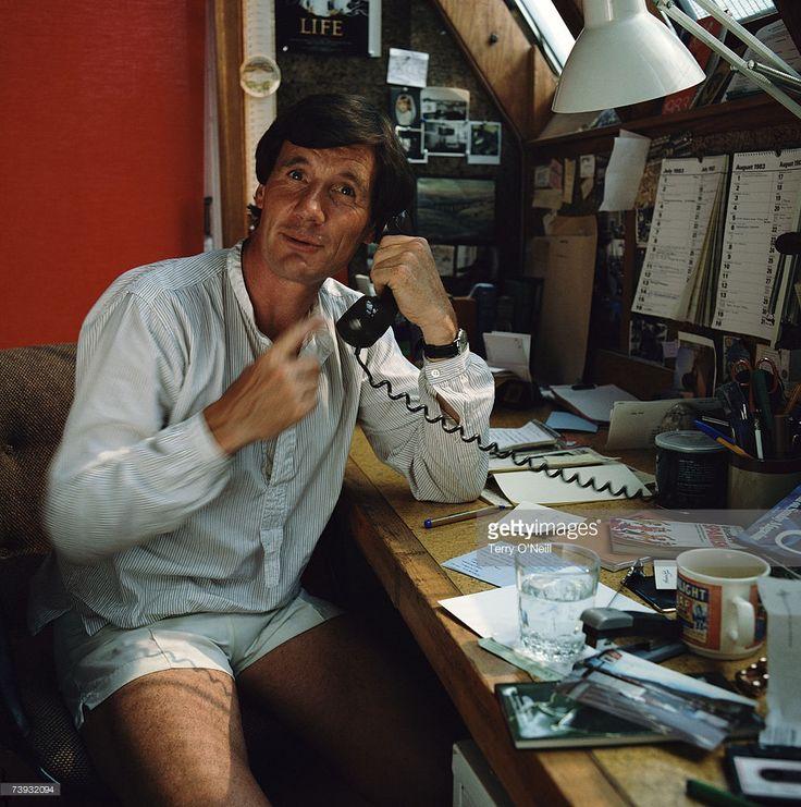English comic actor and television presenter, Michael Palin, circa 1980.