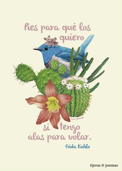 Collage Frida by Tijeras y Poemas (Ana Lorente).  #collage #tijerasypoemas