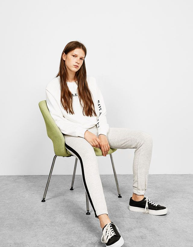Trousers - NEW COLLECTION - WOMAN - Bershka Colombia