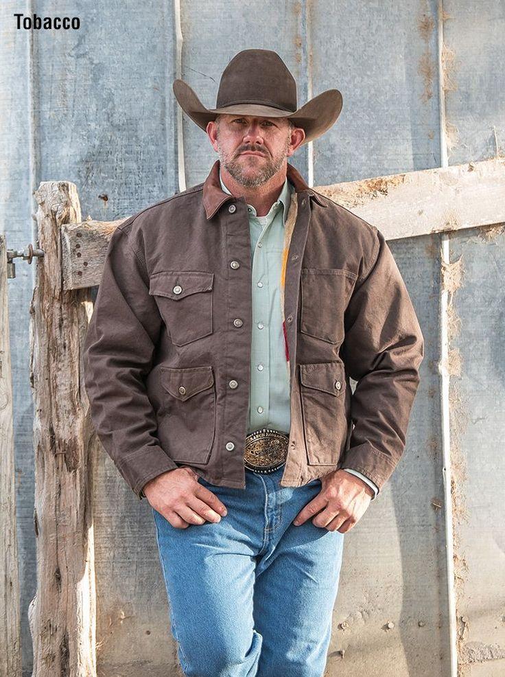 Download Ranchero Mesquite Brush Jacket in 2020 | Mens western ...