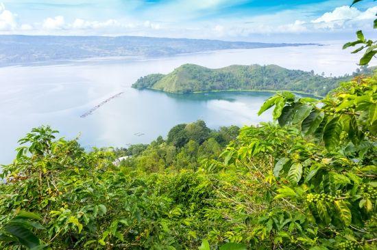 Le lac Toba, à Sumatra