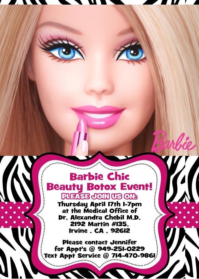 Botox Party Invitation are Elegant Design To Make Inspirational Invitations Template