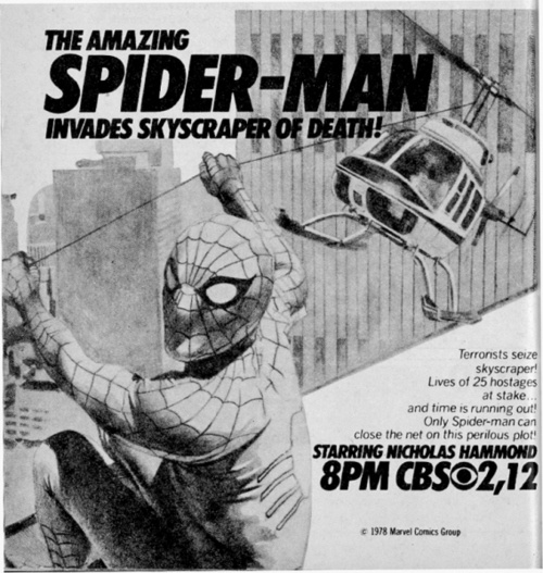 japanesespiderman:  Nicholas Hammond played Peter Parker on the American TV series Spider-Man very close to the same time  Shinji Todo played  Takuya Yamashiro in the Marvel/Toei version in Japan. Here is a recent interview with Nicholas Hammond about playing Spidey back in the day: http://herocomplex.latimes.com/2012/05/16/spider-man-flashback-nicholas-hammond-reeling-in-the-years/