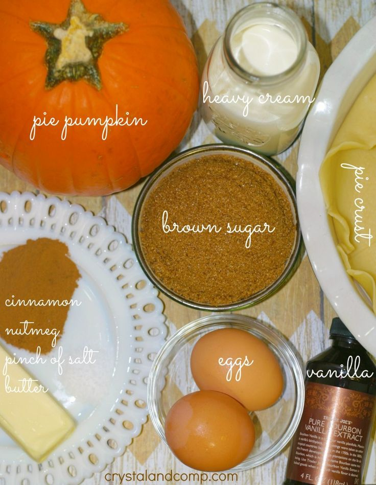 how to make a pumpkin pie from scratch